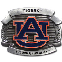Auburn Tigers NCAA Oversized Belt Buckle
