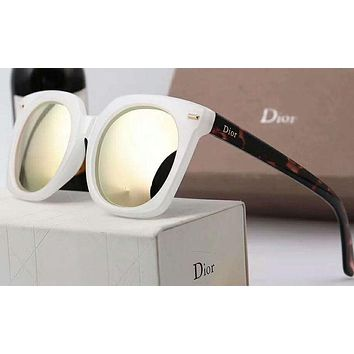 DIOR Popular Ladies Men Elegant Logo Letter Summer Sun Shades Eyeglasses Glasses Sunglasses I-A-SDYJ