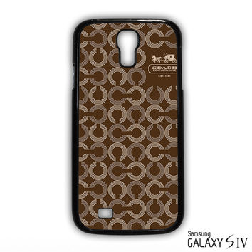Best Coach Black And White for phone case Samsung Galaxy S3,S4,S5,S6,S6 Edge,S6 Edge Plus phone case