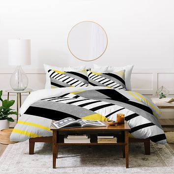 Elisabeth Fredriksson Geometric Combination 2 Duvet Cover
