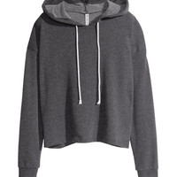 Short Hooded Top - from H&M