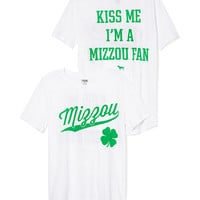 University of Missouri St. Patrick's Day Tee - PINK - Victoria's Secret