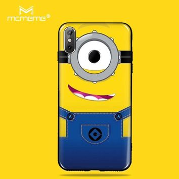 MCMEME Phone Cases For Cubot R11 Case Cover High Quality 3D HD Cute Minions TPU Soft Silicone Cover ForCubot R11 Case Cover