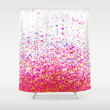 sparkles Shower Curtain by Marianna Tankelevich