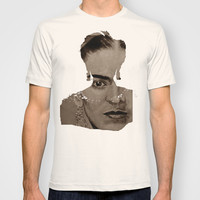 Frida Kahlo - sepia T-shirt by ARTito
