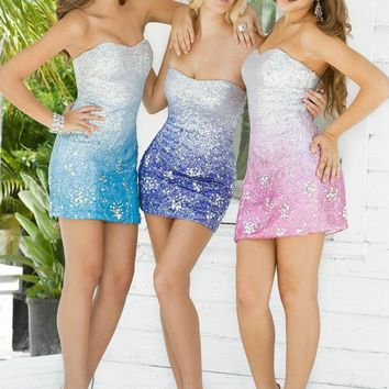 Homecoming dresses by Blush Prom Homecoming Style 9305