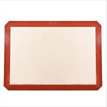Silicone Baking Mat - Silicon Liner for Bake Pans&Rolling- Macaron/Pastry/Cookie/Bun/Bread Making - Professional Grade Nonstick