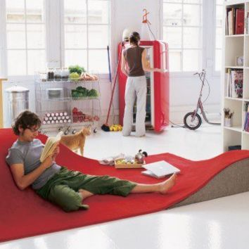 Unique Flying Carpet Rug Furniture
