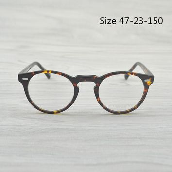 Optical Reading Glasses Frame OV5186 Oliver Peoples Men Women Gregory Peck Retro Myopia Eyeglasses frame For Prescription Lenses