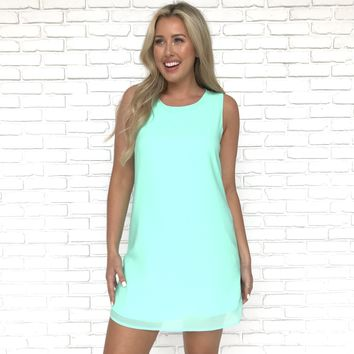 Simple Kind Of Love Mint Dress