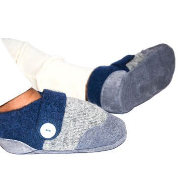 Natural Baby Wool Slippers