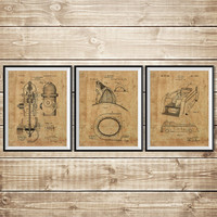Fireman Art Gift, Patent Print Group, Firefighter Wall Art, Firefighter Decor, Firefighter Art Gift, Fireman Printable, INSTANT DOWNLOAD
