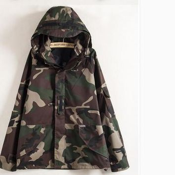 Fashion Camouflage Jacket Military Camo jackets Men's Overcoat Fashion Casual Mens Jackets Slim Fit Men's Jacket