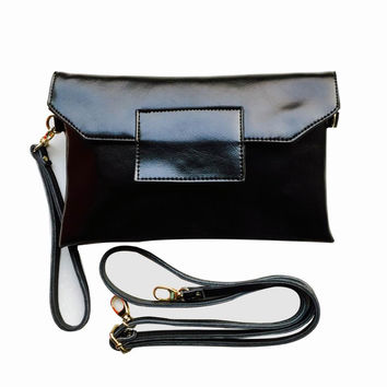 Bearberry Brand 100% Genuine Leather Bag Women Clutches Messenger Bags Small Designer Cross body Shoulder Bag Cowhide Purses