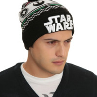 Star Wars Faire Isle Pom Beanie