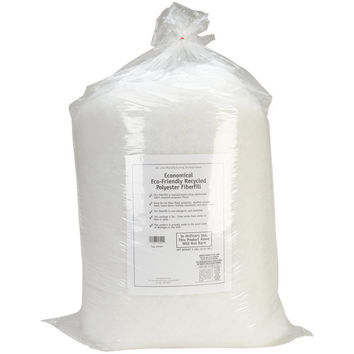 Air Lite Eco Friendly Recycled Polyester Batting Fiberfill, 5 Pounds, Great For Stuffing Pillows, Dog Beds, Cushions, Toys, Dolls