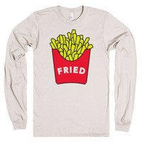 Feeling Fried-Unisex Natural T-Shirt