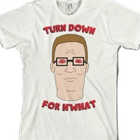 White T-Shirt | Funny King Of The Hill Shirts