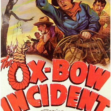 The Ox-Bow Incident 11x17 Movie Poster (1943)