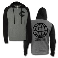Globe Logo Black/Charcoal : PNE0 : MerchNOW - Your Favorite Band Merch, Music and More