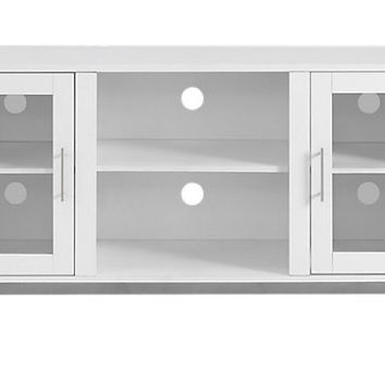 Sorrell White 52 in. Console - TV Stands White