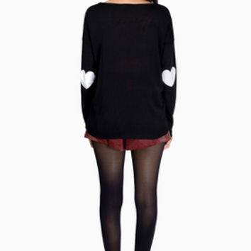 Heart On My Sleeves Sweater $54