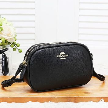 Coach Women Fashion New Leather Leisure Shopping Shoulder Bag