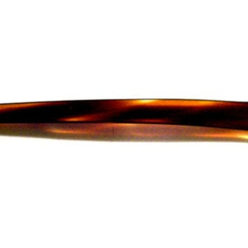 Vintage Acrylic Tortoise Shell Hair Stick Pin, Asian Style Hair Stick, Sale Under 5 Dollars, VisionsOfOlde