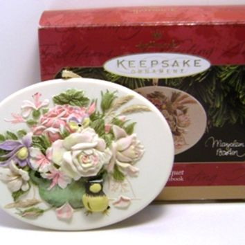 1997 Garden Bouquet Hallmark Series Retired Ornament
