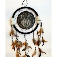 Lisa Parker Wolf Dreamcatcher - Spencer's