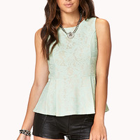 Refined Peplum Top