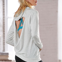 Cowl-back Hooded Tunic - Super Soft Knits - Victoria's Secret
