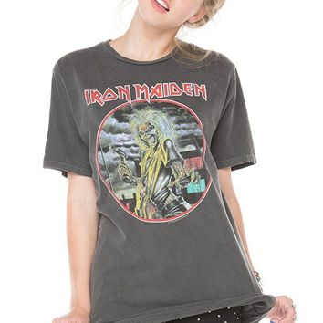 Brandy ♥ Melville |  Iron Maiden Tee - Clothing