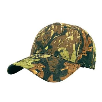 Your Basic Fitted Velcro Camouflage Baseball Cap