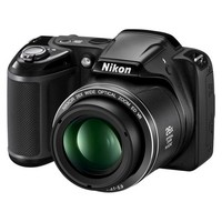 Nikon L320 16.1MP Digital Camera with 26x Optical Zoom - Black (26392)