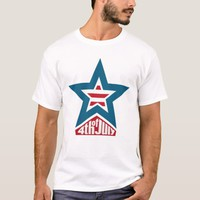 4th of July Star T-Shirt