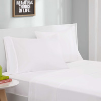 Intelligent Design® Jersey Knit Sheet Set in White