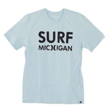 Hurley Surf Michigan Premium T-Shirt for Men MTSPSRMC-49X