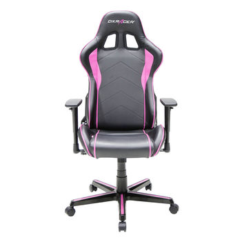 DXRACER FH08NP pyramat office chairs ergonomic adjustable system-Black and Pink
