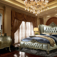 Homey Design HD-200 6 Pc Queen Bedroom Set