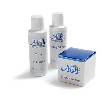 Marli Complete Skin Care Kit (Cleanser, Toner, Stretch Mark)