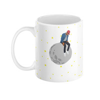 Kid Cudi Man on the Moon Illustration 11 oz Ceramic Mug
