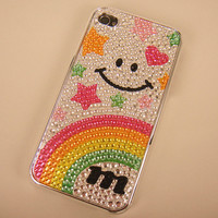 Smile and Rainbow Star Case for iPhone 4/4S