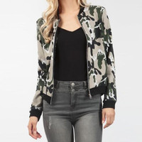 Causal Camouflage Jacket 13235