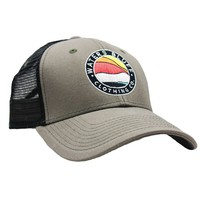 Bluff Horizon Trucker Hat in Surplus Green & Black by Waters Bluff