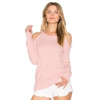 Casual Pullover Pink Women Sweater