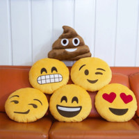 Novelty Emoji Pillow