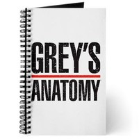 Grey's Faded Journal> Grey's Faded Logo> Grey's Anatomy TV Store