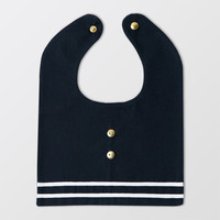 Sailor Bib with Buttons
