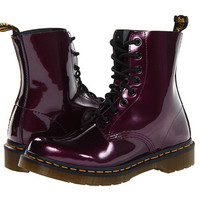 Dr. Martens Pascal 8-Eye Boot W Purple Spectra Patent - Zappos.com Free Shipping BOTH Ways